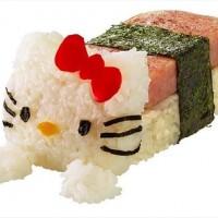 スパム愛好家のシェフRoy Choi が作った「ハローキティ寿司」が可愛いと話題