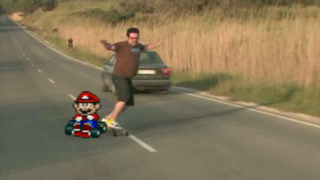 ハプニング動画に絶妙なタイミングでマリオを合成した「Super Bad Mario」が面白い!