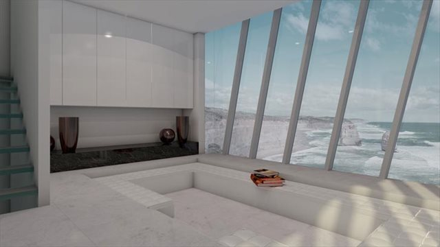 フジツボに触発されて設計された世界一崖っぷちな家が凄い! by Modscape