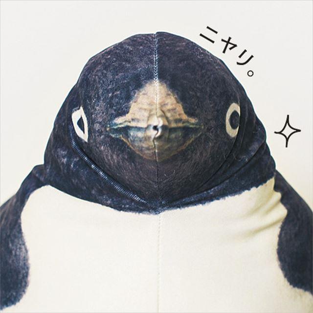ペンギンがお腹で滑っているようなフローリングワイパーカバー「ペンギンスルスルー」