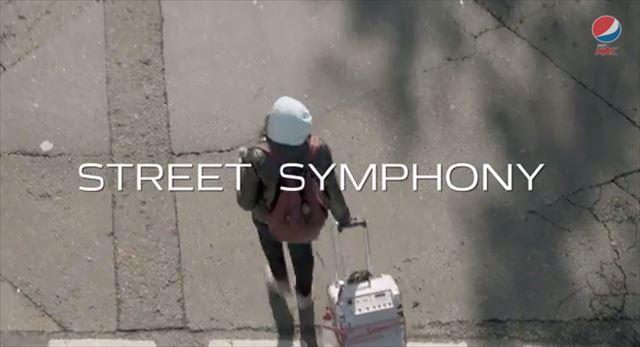街の雑音が次々と繋がっていつしか超格好いい音楽に変わる驚きのサプライズ #LiveForNow