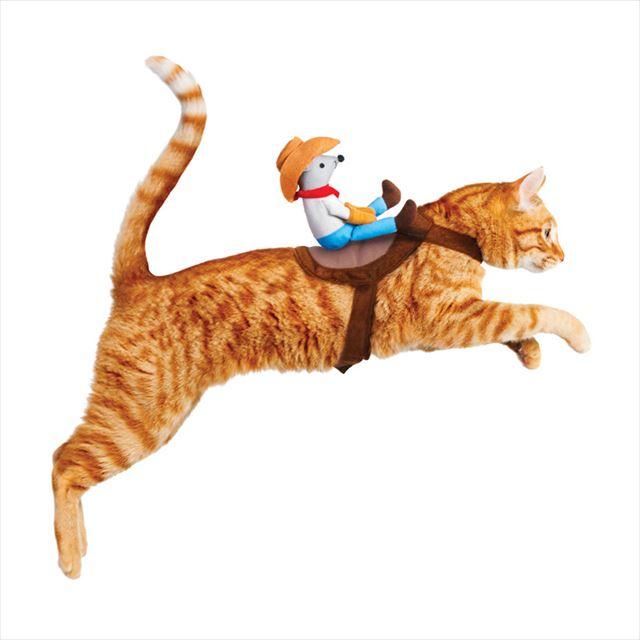 猫と一緒にハロウィーンを楽しみたい人向け「猫ロデオコスチューム」が可愛いよ!