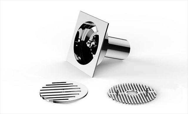 これは便利!ありそうで無かったナイスなアイデアの排水口カバー by レッド・ドット・デザイン賞