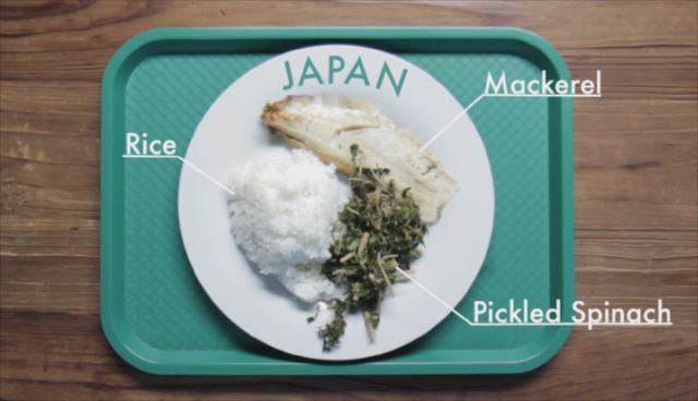 世界の学校給食事情がひと目でわかる動画「School Lunches Around The World」