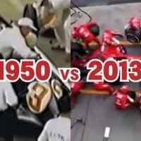 天と地の差!?F1のピットインの様子を1950年と2013年で比べた動画が面白い!