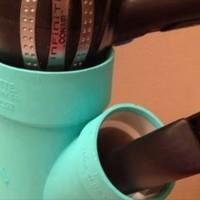 【DIY】これいいね!配管をリメイクして作った「ドライヤー置き場」が便利すぎる!