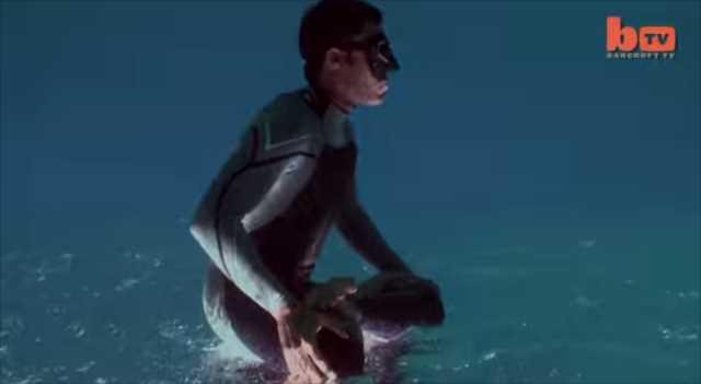 どうやって撮ったの!?まるで水面をダッシュしているような映像が凄い!(種明かし有り)