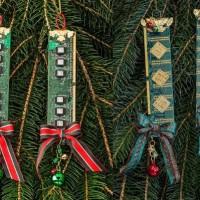【DIY】PCのメモリーをリメイクして作ったクリスマスツリー用オーナメントの違和感の無さが凄い
