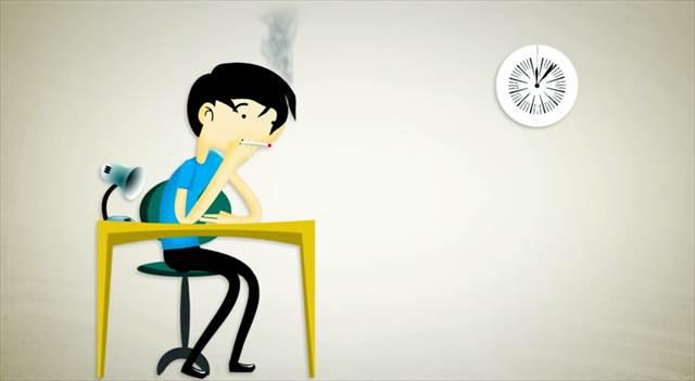 【禁煙したくなる動画】禁煙のメリットを経過時間に沿って説明してくれるアニメーション「Quitting Smoking Timeline」