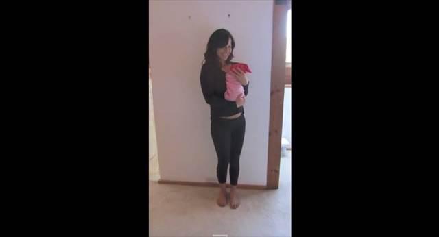 風船を使ったアイデアが素敵!妊娠してから産まれるまでのお腹の様子を撮影したタイムラプスムービー