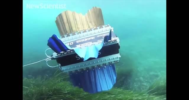 フワフワ感が凄い!イカの動きからインスピレーションを受けて開発されたロボット「Sepios」