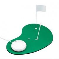 仕事の合間にゴルフの練習ができるマウス「Golf Mouse」