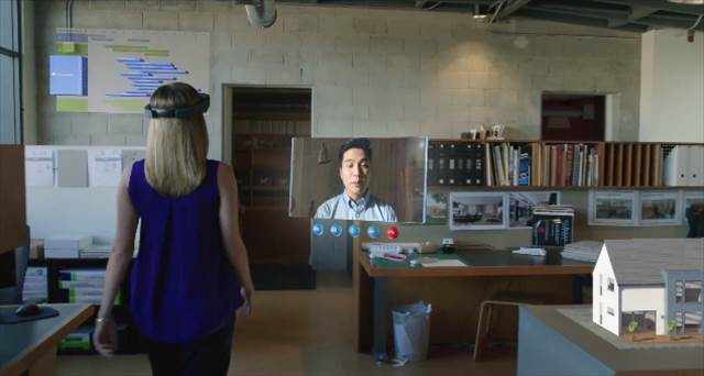 マイクロソフトのメガネ型コンピューター「Microsoft HoloLens」のコンセプト映像が凄い
