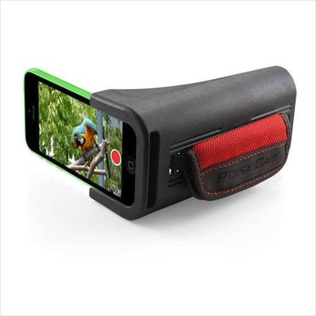 これいいね!iPhoneをビデオカメラっぽく持てるグリップ「PoiseCam Camera Grip」