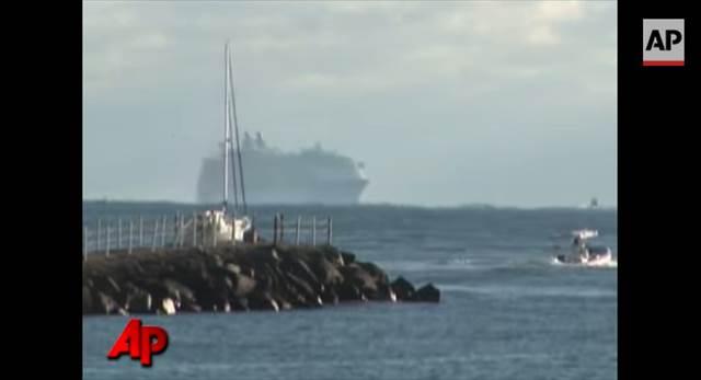 タイタニックの5倍!思わず目を疑う世界最大級のクルーズ船のド迫力な入港シーンが凄い