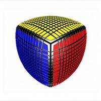 こんなの絶対解けないよ…13×13×13のルービックキューブのインパクトが凄い!