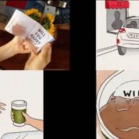 TheFlippistで作ったオリジナルのパラパラ漫画を使ったプロポーズが素敵過ぎる!