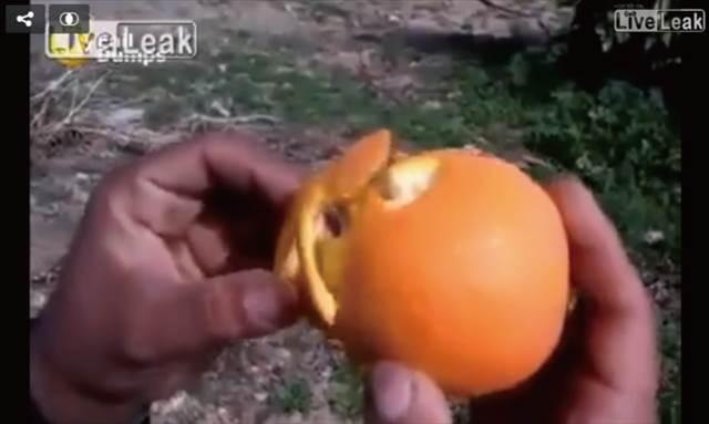 【動画】思わず赤面!とってもアハーン♡なオレンジの剥き方が話題