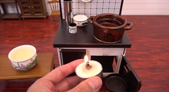 ミニチュアのキッチンで天ぷらを作っちゃう動画が面白い!他にも色々あるよ!