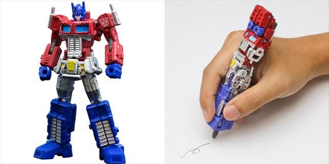 オプティマス・プライムにトランスフォームするペン『Transformers Pen』が欲しすぎる!