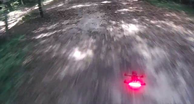 【まるで映画のシーン】森の中で高速チェイスするラジコン飛行機を主観で撮影した映像が凄い!