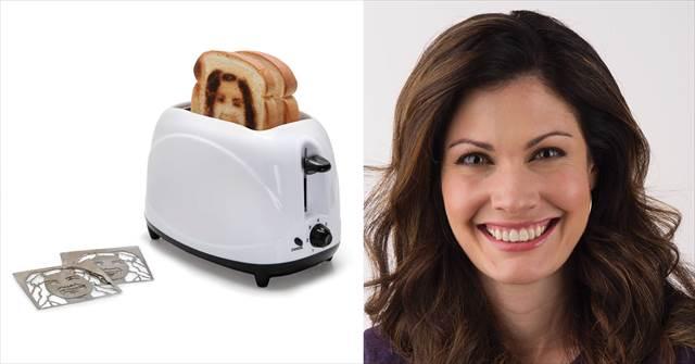 自分の顔の焼き目を入れることができるトースター『The Selfie Toaster』