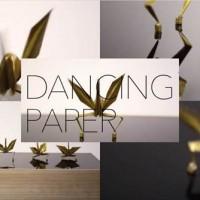 折り紙の鶴たちがキレキレのダンスを踊りまくる映像「DANCING PAPER」が超面白いよ!