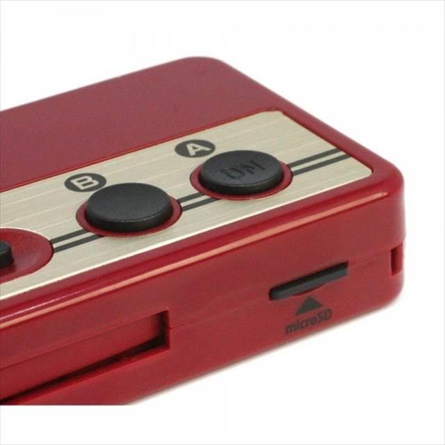 ファミコンのコントローラー型のモバイルバッテリー兼カードリーダー『レトコンバッテリー&カードリーダー』