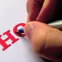 有名メーカーやブランドのロゴを全て手描きで再現してしまう動画が凄い!