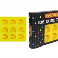 パックマン型の氷が作れるアイストレイ「Fossil-Iced Silicone Ice Tray」