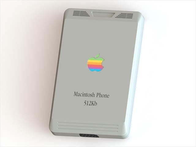 一周回ってなんだか新しい!iPhoneから逆行した発想の「Macintosh Phone」がグっとくるぞ!