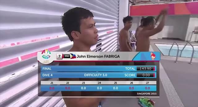 笑ったら負け・・・奇跡の「0.00」を叩きだしたフィリピン人選手がシュールすぎると話題に