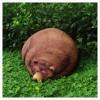 結構リアル!本物の熊が寝ているようなクマ型の大きなクッション