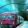 【画像】水中に駅が!?「ヴェネツィアの水中列車」という作品が話題