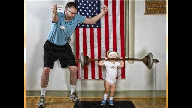 愛娘と一緒に撮った愛情たっぷりの面白写真「世界一素晴らしいパパ!」