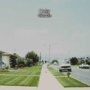 Curly Giraffe -Water On-のCDジャケット画像