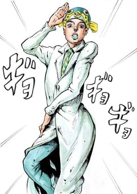 JOJO風さかなクン「ギョギョの奇妙な博士」がTwitterで話題