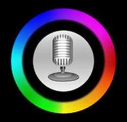 【iPhoneアプリ】自分の声を色で表示して診断する「Voice Aura」