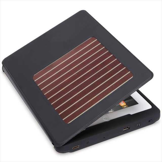これはエコだなと思った「バッテリー&ソーラーパネル付きiPadケース」
