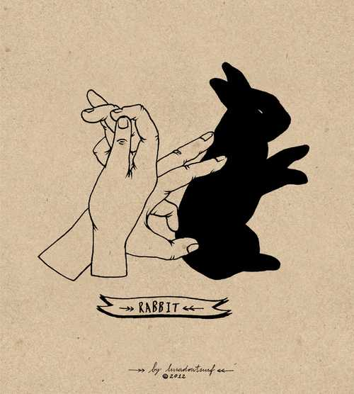 クリスマス前に覚えたい「手影絵の作り方」見つけたよ~