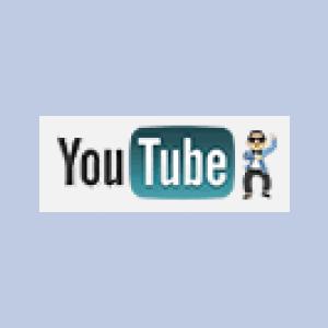 Youtubeのロゴが「江南スタイル」Verになっている!
