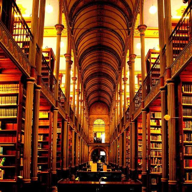 【画像】こんなところで本が読みたい!って思える世界の図書館まとめ