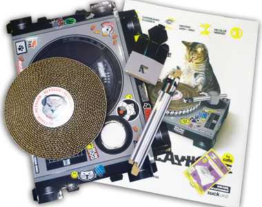 Cat Scratch Turntable