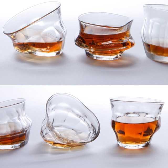【珍品】「あれ・・・酔ったかな・・・?グラスがぐにゃぐにゃに見えるぞ・・・」