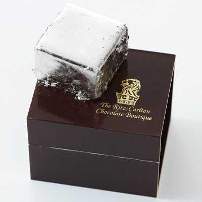 一粒5250円!?ザ・リッツ・カールトン大阪の「プラチナチョコレート」