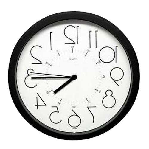 【雑貨】意外と便利!?逆回転時計