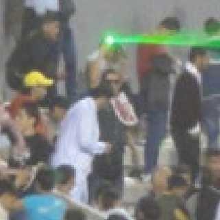 【画像】ヨルダン戦でレーザー照射していた犯人が激写されていた!