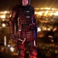 バーベキューを戦場に変えるエプロン「Tactical BBQ Apron」
