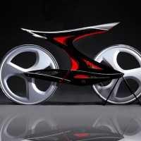 人体の関節や筋肉の仕組みを取り入れた美しいZ型の自転車