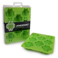 Androidの「ドロイド君」の形の氷が作れる「Android Ice Cube Tray」が可愛い!!